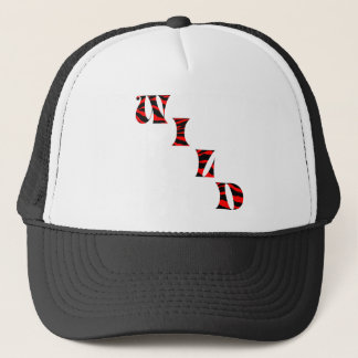 Tiger Print Wild Trucker Hat