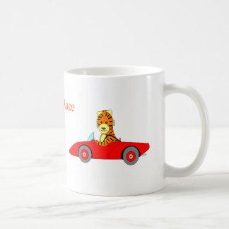 , Tiger Race Coffee Mugs