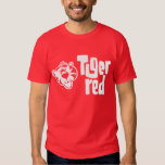 Tiger Red T Shirts