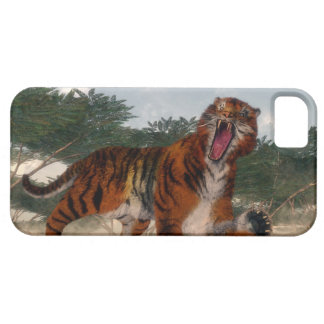 Tiger roaring - 3D render Case For The iPhone 5