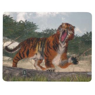 Tiger roaring - 3D render Journal