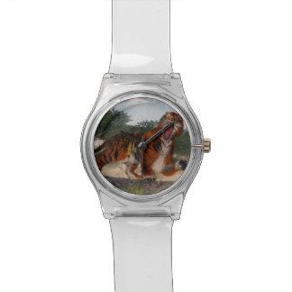 Tiger roaring - 3D render Watch