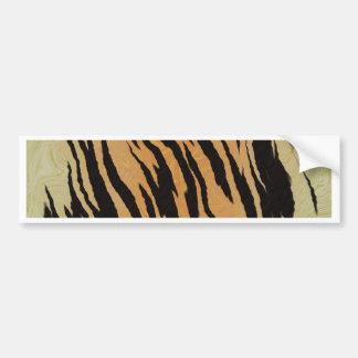 Tiger seamless pattern texture background bumper sticker