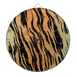 Tiger seamless pattern texture background dartboard