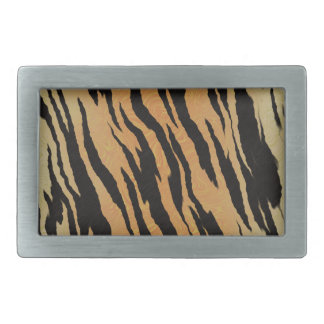Tiger seamless pattern texture background rectangular belt buckles