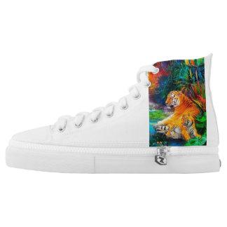 Tiger shoe