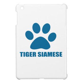 TIGER SIAMESE CAT DESIGNS iPad MINI COVER
