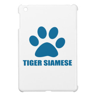 TIGER SIAMESE CAT DESIGNS iPad MINI COVERS