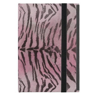Tiger Skin in Pink Rose iPad Mini Cover