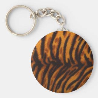 Tiger Skin Key Ring