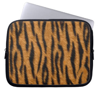 Tiger skin print design, Tiger stripes pattern Laptop Computer Sleeves