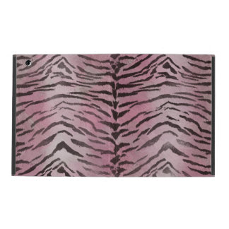 Tiger Skin Rose Pink Case For iPad