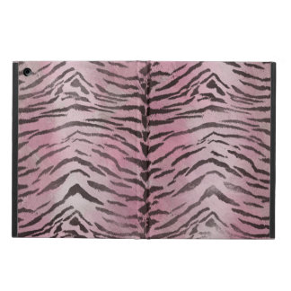 Tiger Skin Rose Pink iPad Air Covers