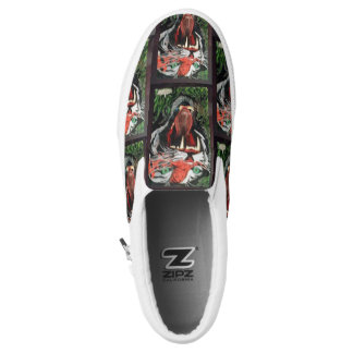 Tiger sneeker slip on shoes
