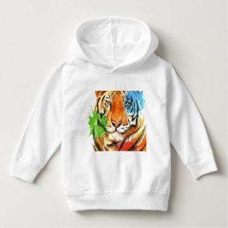 Tiger Splatter Hoodie