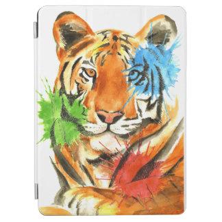 Tiger Splatter iPad Air Cover