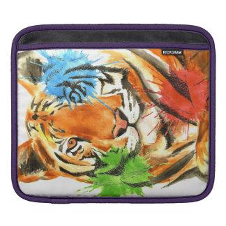 Tiger Splatter iPad Sleeve