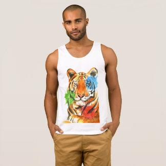 Tiger Splatter Singlet