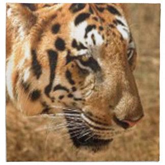 Tiger Stalking in India Napkin