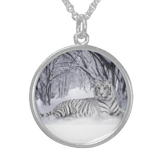TIGER STERLING SILVER NECKLACE