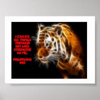 Tiger Strength poster