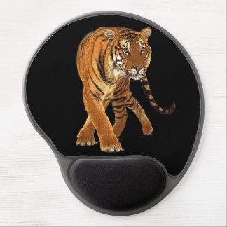 Tiger Stripe  Black Gel Mouse Pad