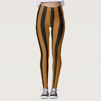 Tiger-Stripe Leggings