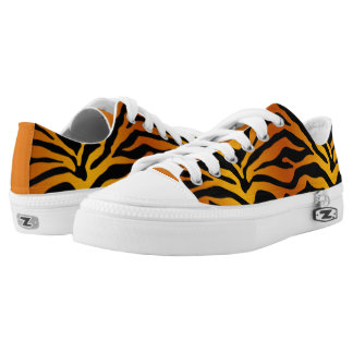 Tiger stripe low tops