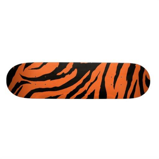 Tiger Stripe Skateboard Pro