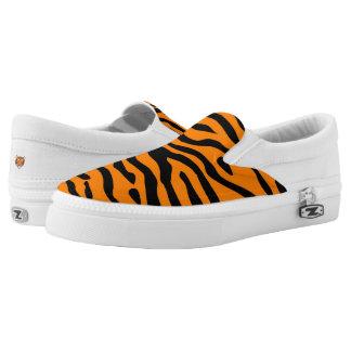 Tiger Stripe slip on sneaker