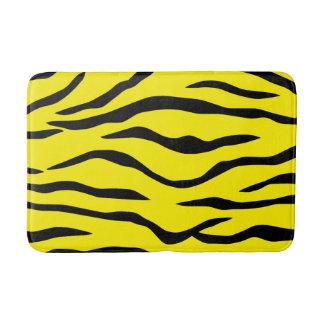 Tiger-striped Bath Mat