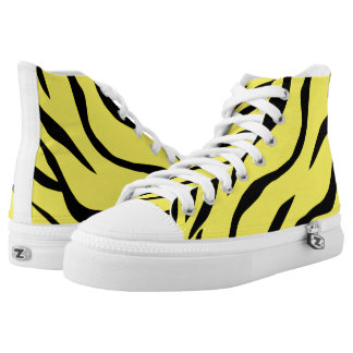 Tiger-striped High Tops