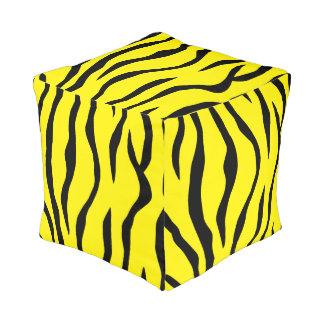 Tiger-striped Pouf