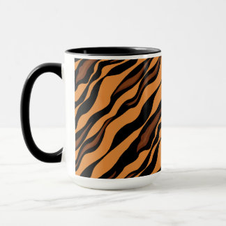 Tiger Stripes Camouflage Pattern Mug