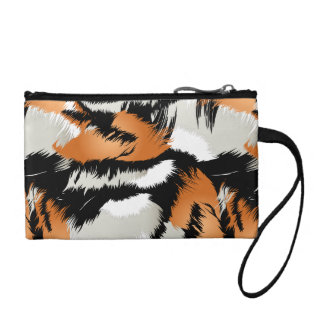 Tiger stripes coin purse