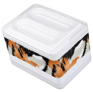 Tiger stripes cooler