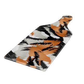 Tiger stripes cutting board