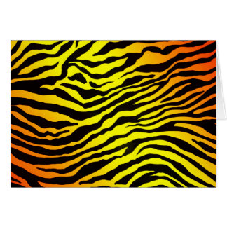 Tiger Stripes (landscape) Card