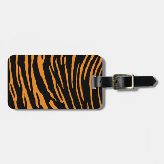 Tiger Stripes Luggage Tag