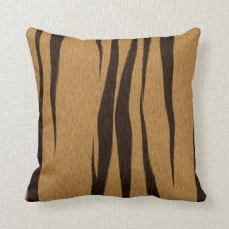 Tiger Stripes Pattern Throw Pillow
