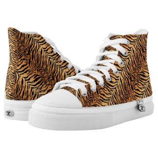 Tiger Stripes Printed Shoes