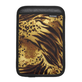 Tiger Stripes Safari Pattern iPad Mini Sleeve