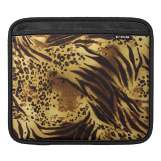 Tiger Stripes Safari Pattern iPad Sleeve