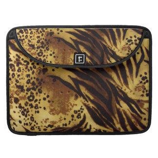 Tiger Stripes Safari Pattern Pro Macbook Sleeve