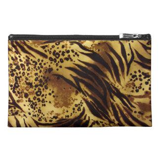 Tiger Stripes Safari Print, Travel Accessory Bag