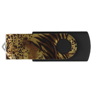 Tiger Stripes Safari Print USB Flash Drive