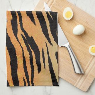 Tiger Stripes Tea Towel