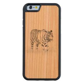Tiger-Style Iphone 6 Bumper Cherry Wood case