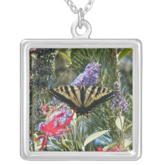 Tiger Swallow Tail Butterfly Necklace