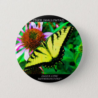 Tiger Swallowtail 6 Cm Round Badge